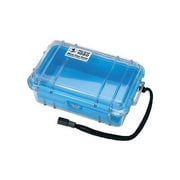 Pelican™ Micro Carrying Case With Blue Liner, Clear