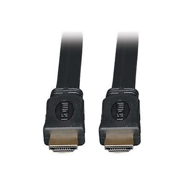 Tripp Lite 6' High Speed HDMI Male/Male Flat Cable, Black