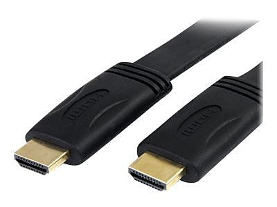 StarTech 25' Flat High Speed Male/Male HDMI Cable With Ethernet