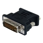 StarTech DVI To VGA Male/Female Cable Adapter, Black, 10/Pack