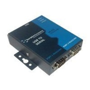 Brainboxes 2-Port 9-Pin DB-9 Male RS422/485 USB To Serial Adapter