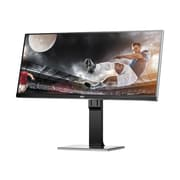 "AOC Professional 34"" LED-Backlit LCD Monitor - U3477PQU - Black"