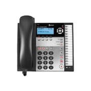 AT&T 1040 4 Line Corded Standard Phone, Charcoal /White
