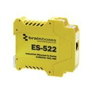 Brainboxes 2 Ports Industrial Ethernet to Serial Device Server