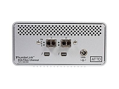 ATTO ThunderLink FC 2162 20GBps Thunderbolt To 16Gb/s FC Desklink Device