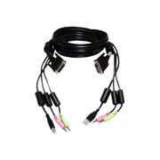 Avocent® 6' DVI-D To USB Audio Video Data Transfer Cable