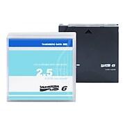 Tandberg LTO Ultrium 6 434021 2.5TB Data Cartridge, Black
