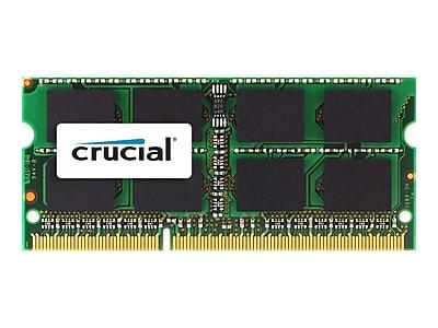 Micron® Crucial® CT25664BF160B 2GB (1 x 2GB) DDR3 204-Pin SDRAM PC3-8500 SoDIMM Memory Module Kit