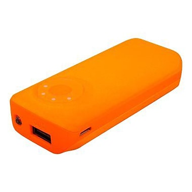 Urban Factory 5600 mAh Universal Pocket-Sized Emergency Battery For Smartphone, Orange