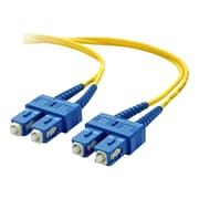 Belkin® 3.3' SC Male To SC Male Duplex Fiber Optic Cable, Yellow (F2F80277-01M)