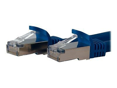 StarTech 7' Cat 6a Shielded Snagless RJ-45 Male/Male Patch Cable, Blue