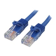 StarTech 20' Cat 5e Snagless RJ-45 Male/Male Patch Cable, Blue