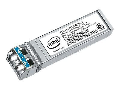 intel® E10GSFPLR Ethernet SFP+ LR Optic, 1 x LC