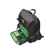 "Mobile Edge Razer Black/Green Ballistic Nylon Backpack For Up To 17.3"" Laptops"