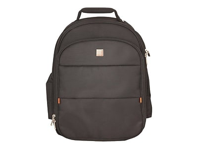 Urban Factory City Black Nylon Backpack For Up To 15.6