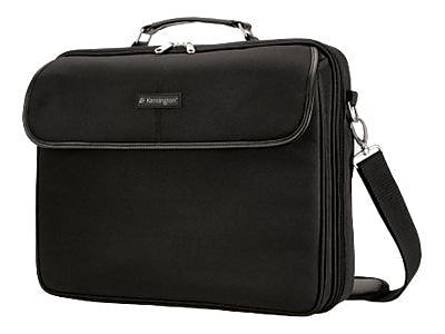 "Kensington® Black Nylon Portable Carrying Case For 15.4"" Laptop/Notebook"