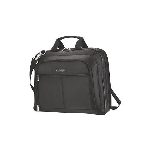 "Kensington® Black Nylon Classic Carrying Case For 15.4"" Laptop/Notebook"