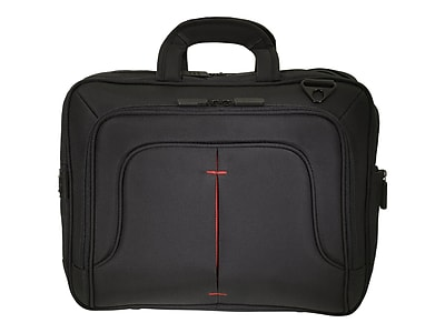 """Eco Style Tech Pro Red Ethylene Vinyl Acetate Carrying Case For 16.1"""" Notebook"""