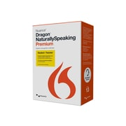 Nuance® Dragon NaturallySpeaking v.13.0 Premium Student/Teacher Software, 1 User, Windows, DVD-ROM