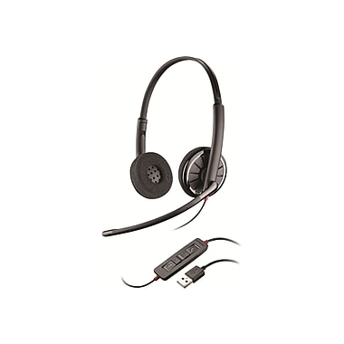 Plantronics Blackwire 300 89919-78 Wired Computer Headset, Black