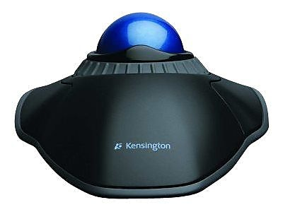 Kensington® Orbit® Optical USB Trackball With Scroll Ring, Black