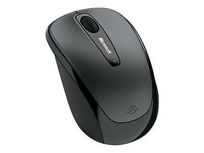 Microsoft® 5RH-00003 USB 2.0 Wireless BlueTrack Mouse, Gray