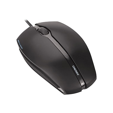 Cherry® GENTIX Corded, Illuminated Optical Mouse, 4.4