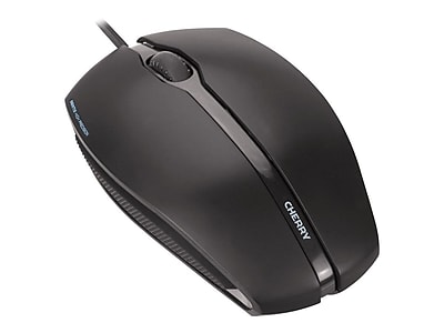 Cherry® GENTIX Corded, Illuminated Optical Mouse, 4.4