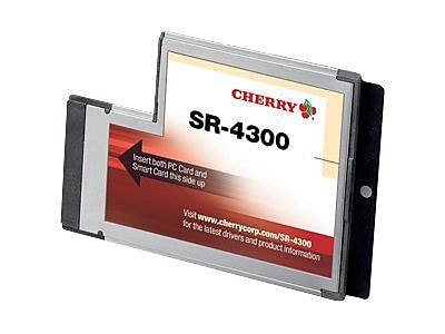 CHERRY SR-4300 Smart Card Reader With Express Card Interface