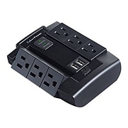 Cyberpower  Professional 6 Outlet Direct Plug Surge Protector