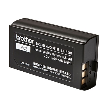 Brother® Handheld Li-Ion Rechargeable Battery For Pt-E300/Pt-E300Vp/Pt-H300 Labelers