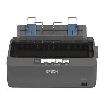 Epson LX-350 Black/White Dot Matrix Impact Printer, C11CC24001