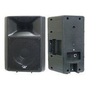 Pyle® PPHP1259 500 W 2-Way Full Range Loud PA Speaker, Black