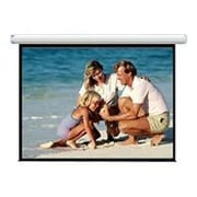 Draper ® AccuScreens ® 800011 Electric Wall/Ceiling Projection Screen, 96""