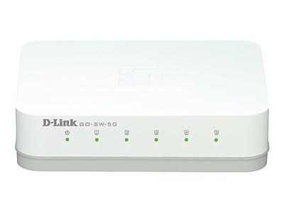 D-Link® GO-SW-5G 5-Port UnManaged Gigabit Ethernet Switch