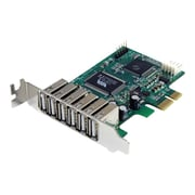 StarTech 7-Port PCI Express Low Profile High Speed USB 2.0 Adapter Card