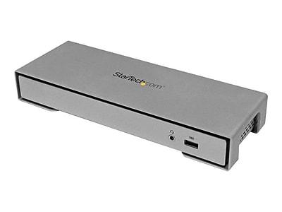 StarTech 4Port USB Thunderbolt 2 Docking Station, Silver