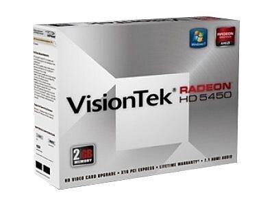 VisionTek Radeon HD 5450 2GB PCI Express 2.1 Graphics Card