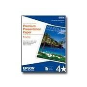 """Epson® Premium Presentation Paper, 13"""" x 19"""", White/Matte, 50 Sheets"""