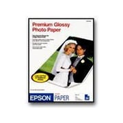 "Epson ® Premium Glossy Photo Paper, 6"" x 4"", White, 100 Sheets/Pack (S041727)"