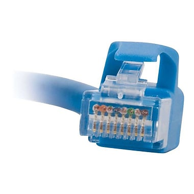 C2G 27143 10' RJ-45 Male-to-Male Cat6 Snagless Patch Cable, Blue