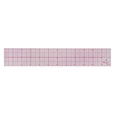 C-THRU 8ths Bevelled Ruler, 12""