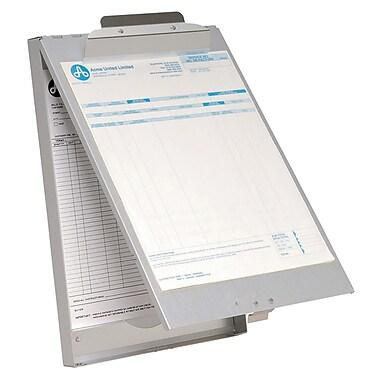 Westcott – Porte-papiers en aluminium avec charnière dans le haut et pince extérieure, format lettre