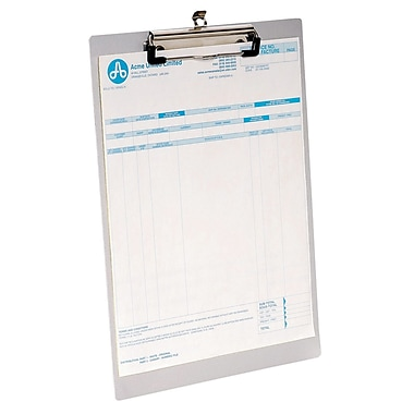Westcott Letter Size Aluminum Clipboards