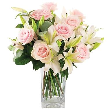 What A Bloom – Bouquet de roses roses et lys