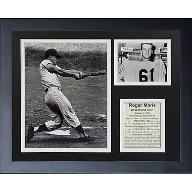 Legends Never Die Roger Maris 61st HR Framed Memorabilia