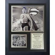 Legends Never Die Adventures of Superman Framed Memorabilia