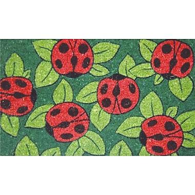 Home & More Ladybugs Doormat