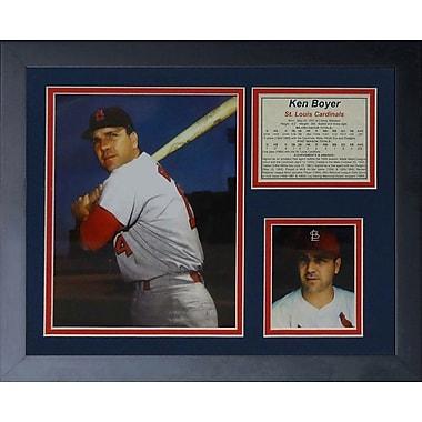 Legends Never Die Ken Boyer Framed Memorabilia