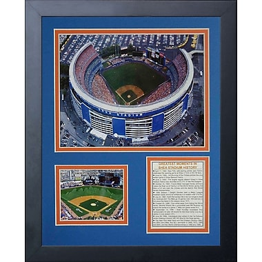 Legends Never Die Shea Stadium Framed Memorabilia